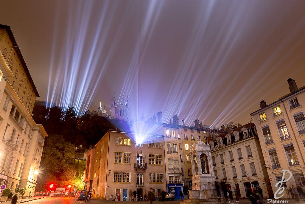 Comme le projecteur de la fête des lumières