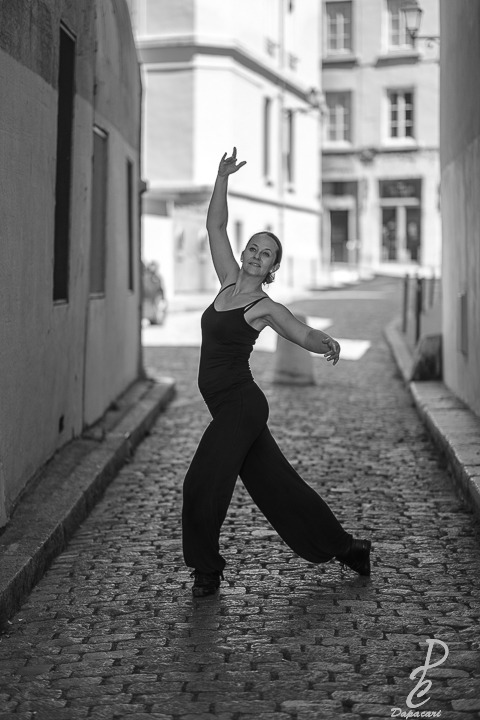 photographe professionel noir et blanc à Lyon