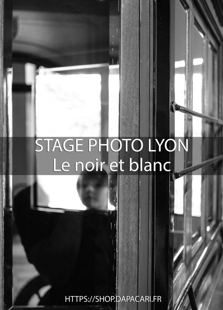 apprendre la photo de noir et blanc à Lyon