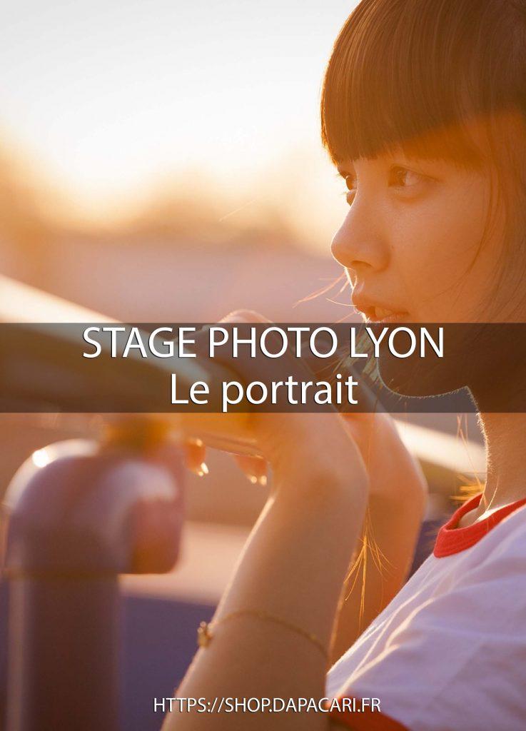 apprendre la photo de portrait à Lyon