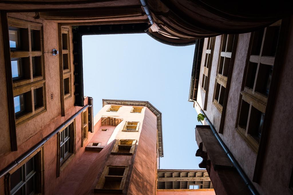 apprendre à photographier les traboules de Lyon